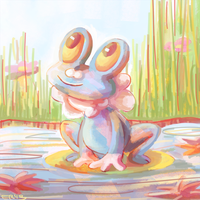 froakie by blubified