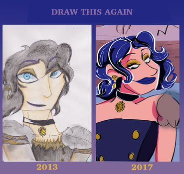 Draw This Again Steampunk Queen by Laylabelle97