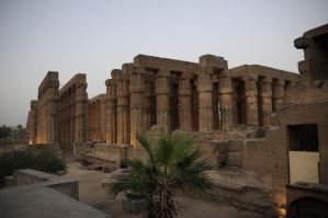 Temple of Luxor in Twilight by AndySerrano