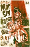 MAD SIN POSTER by benestrada
