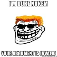 Duke Nukem's Excuse at an Argument by DilbertnaKabuto