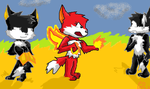 Fairy Foxes Fan Art by PuppyDawg1022
