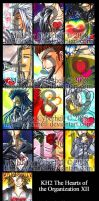 KH2 Org XIII Postcards by cyberhell