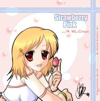 To Kl-Chan :+: Strawberry Pink by minore