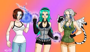One Piece Devil Fruit Gals by zoro4me3