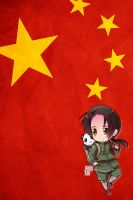 Hetalia iWallpapers - China by Dreamweaver38