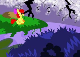 Applebloom secret place by shinkuma