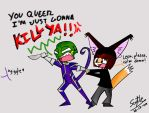 Leon, calm down by o-Scythe-o