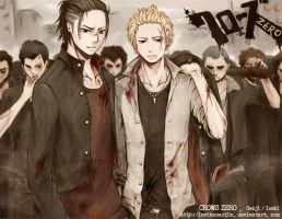 Crows ZERO_GPS by RainNoir