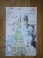 my letter for santa recolored by 4ellyK