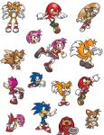 Sonic Characters 2 by michael-bowers