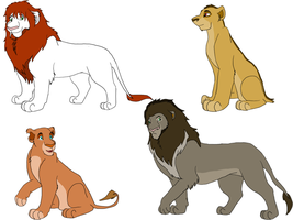 Lion Adoptables - OPEN by PCollinsAdoptables