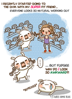 JubesComicBlog: Let me be fit by jujubes