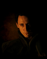 Loki - Speed painting by Lasse17
