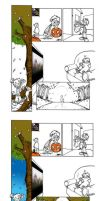 Autumn -the making of- part 2 by glassonion14