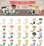 Doll Sale by InterGrapher