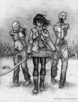 walking dead by Kennienoname