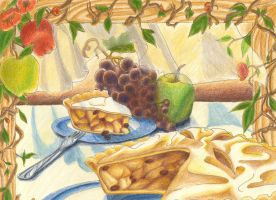 French Apple Pie by Tico-Illustrations