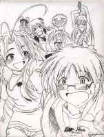 love hina by Rheyne