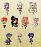 Chibi dolls for KyaKlutz by Sonten