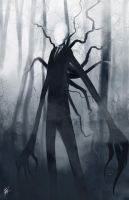 The Slender Man by JLoneWolf