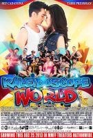 Kaleidoscope World MOVIE POSTER by joviedayon