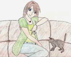 Erika and MexCat For Shadow by FawkYewImaCosplayer