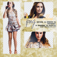 +Lily Collins pack .png 01. by Swiftie1310