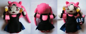 Black Lady Plush by QTZephyr