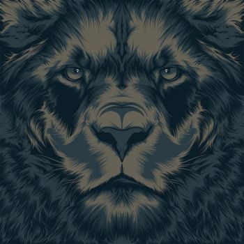 Lion by craniodsgn