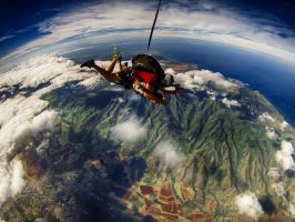 Pacific Skydiving Hawaii VII by StevenZybert