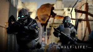 Half Life 2:Final Battle wallp by DP-films