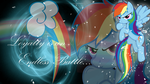 Rainbow Dash - Loyalty is an Endless Battle... by BlackandNerdy