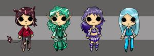 Customs Palette Adopt Set 3 Closed! by Ivory-Aria