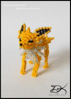 [Bead-work] Jolteon by Delinlea