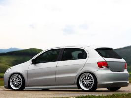VW Gol Clean style by Clipse89