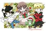 Merry Christmas for KawaiiOverdose by SamaiMurai