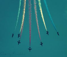 The Red Arrows by Cherry-Cheese-Cake