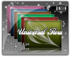 Universal Flow Wallpaper Pack by dany999