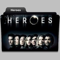 Heroes tv show folder icon by speakingsoul