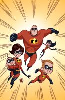 Incredibles color sample by MindWinder