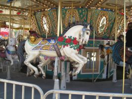 Carousel -5 by rachellafranchistock