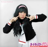 Tomoyo Daidouji Cosplay - Kyuu by SailorMappy