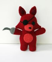 Foxy-Five Nights at Freddy's by MilesofCrochet