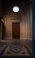 Neoclassical Door by kuschelirmel-stock