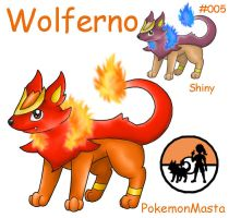 Wolferno 005 by PokemonMasta