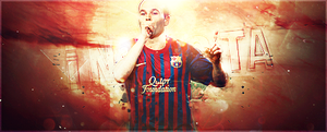 Iniesta collab by Hatem-DZ