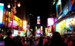 Times Square by wasserplane