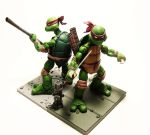 TMNT Display - NECA 1 by Lalam24
