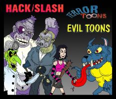 HackSlash: Evil Terror Toons by Lordwormm